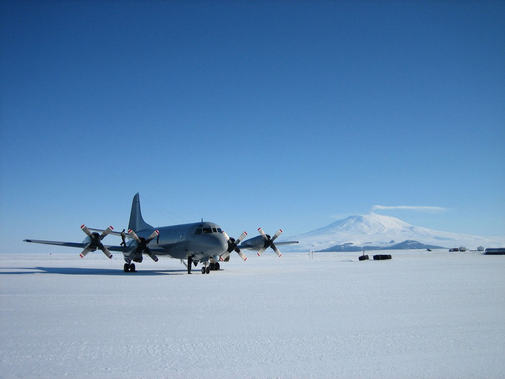 Ice Runway, Antartica -  Pilots report that the surface is stable, like landing on concrete