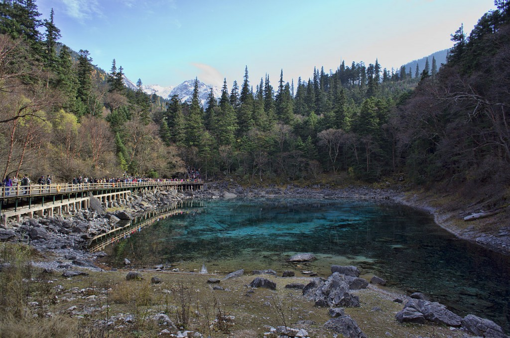 10 Most Beautiful Forests In The World: Jiuzhaigou Valley in Sichuan