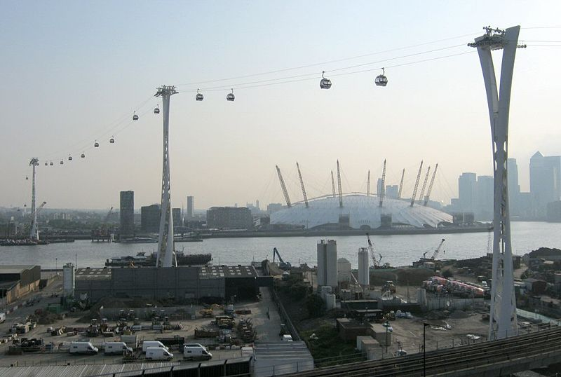 The Emirates Air Line, London, England - Most Amazing Aerial Lifts