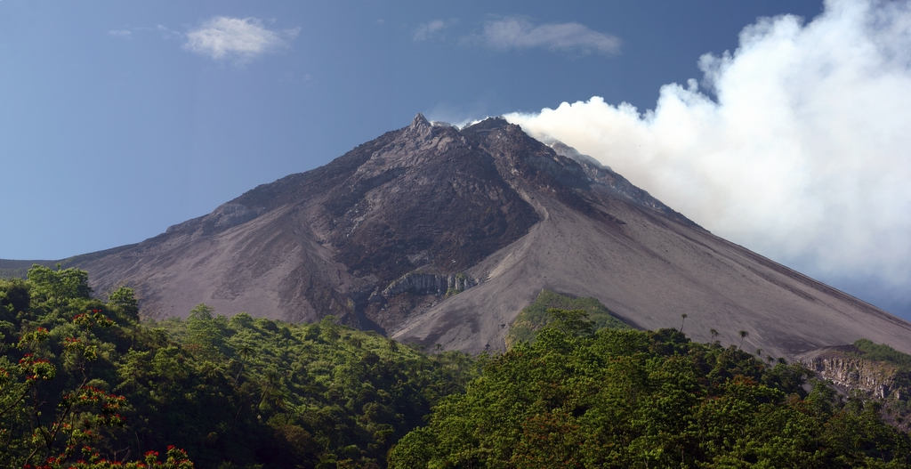Most Active Volcanoes In The World: Mount Merapi