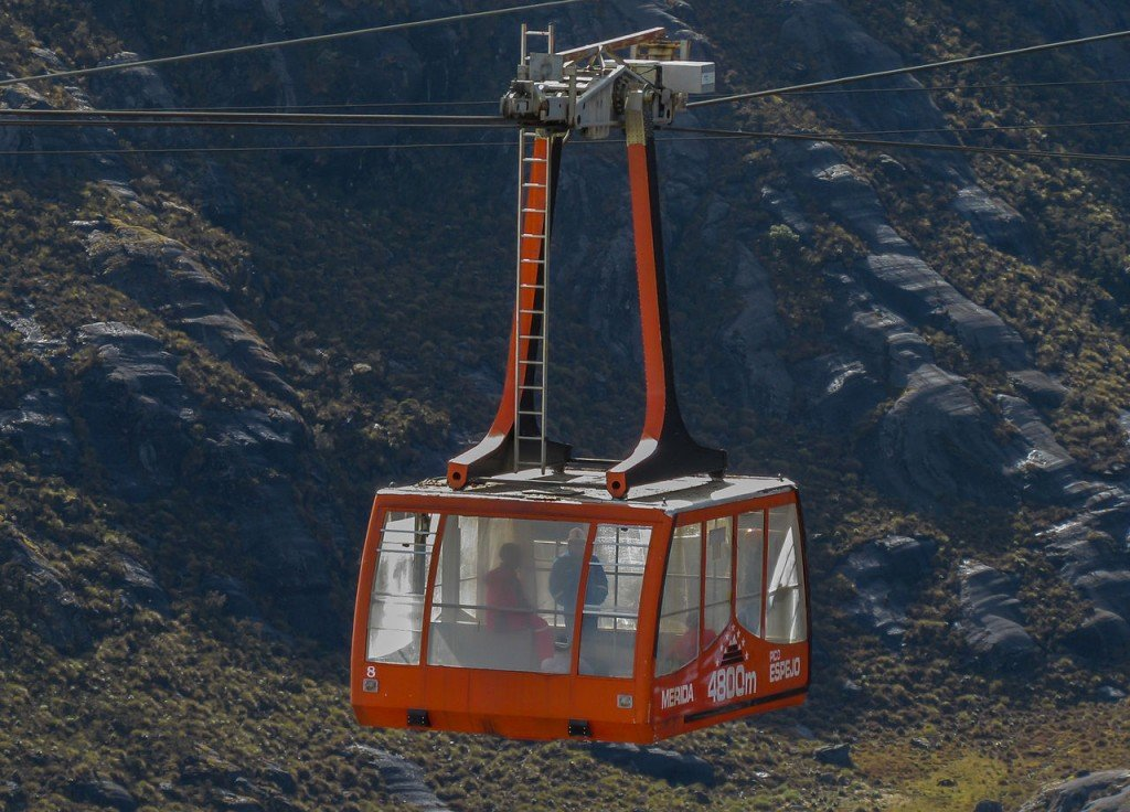 10 Most Amazing Aerial Lifts In The World: The Merida Cable Way