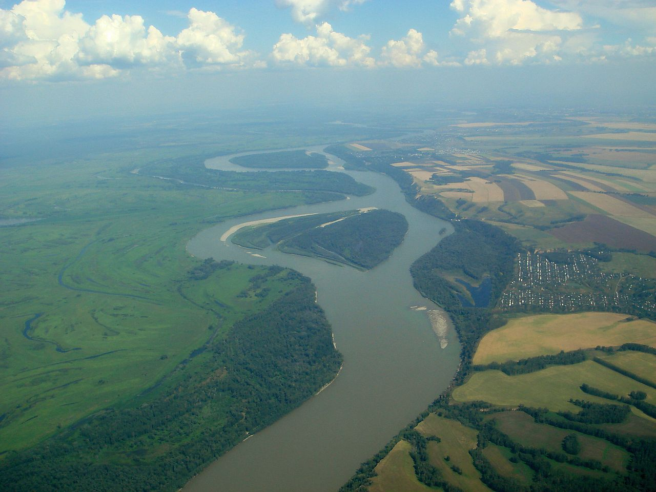 Is the longest river found