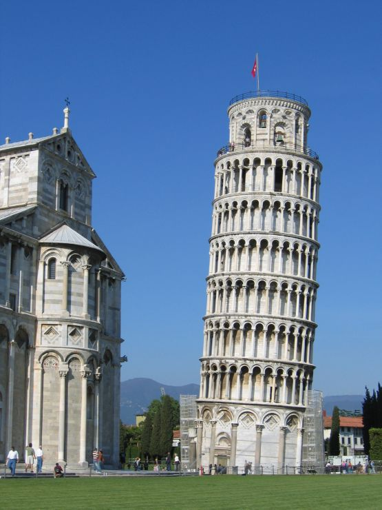 Leaning Tower of Pisa - Famous Monuments In Europe
