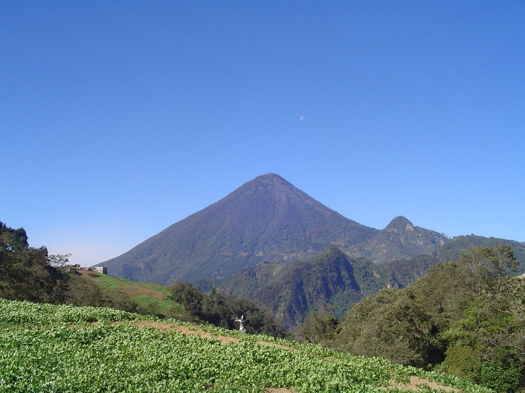 10 Most Active Volcanoes In The World: Santa Maria, Guatemala