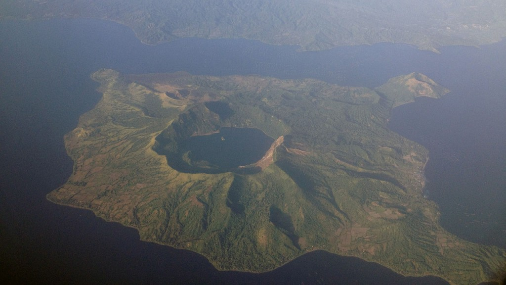 Most Active Volcanoes In The World: Taal Volcano