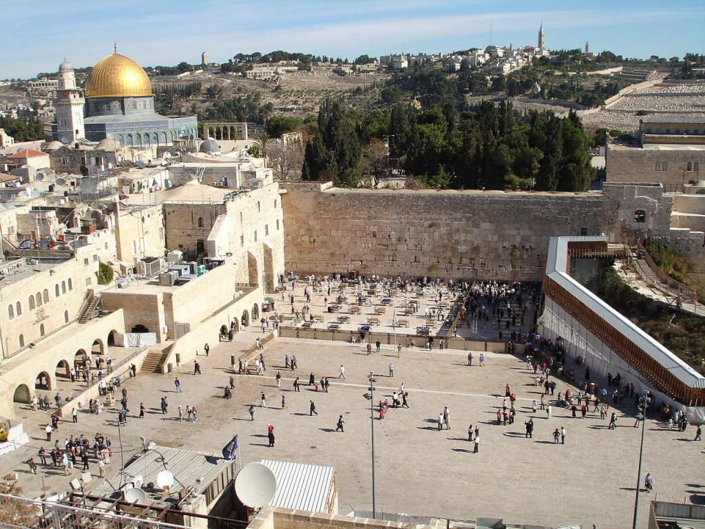 The Western Wall, Jerusalem - the holiest place for Jewish people