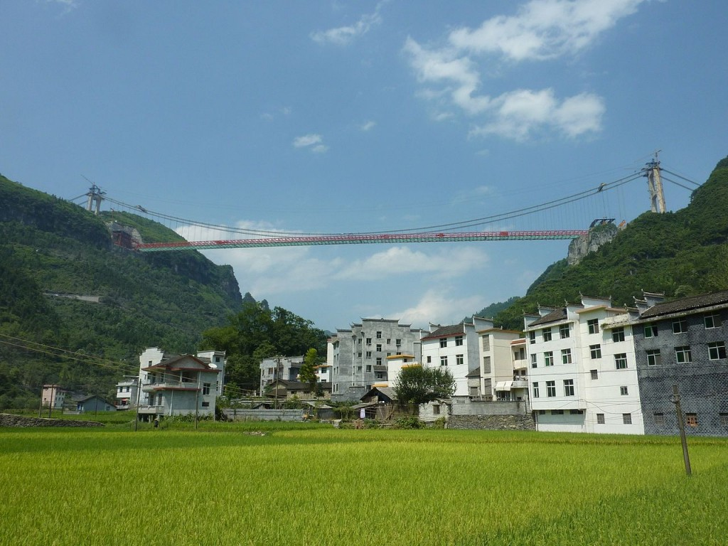 Highest Bridges: Aizhai Bridge, China (source: wiki)