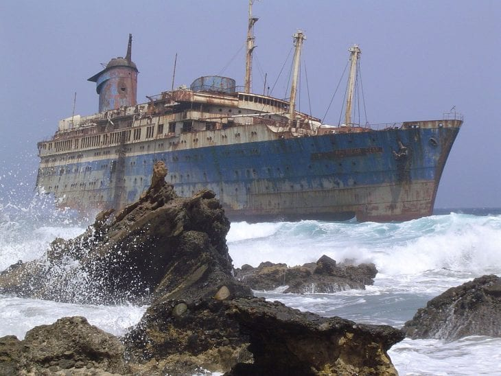 Incredible Shipwrecks
