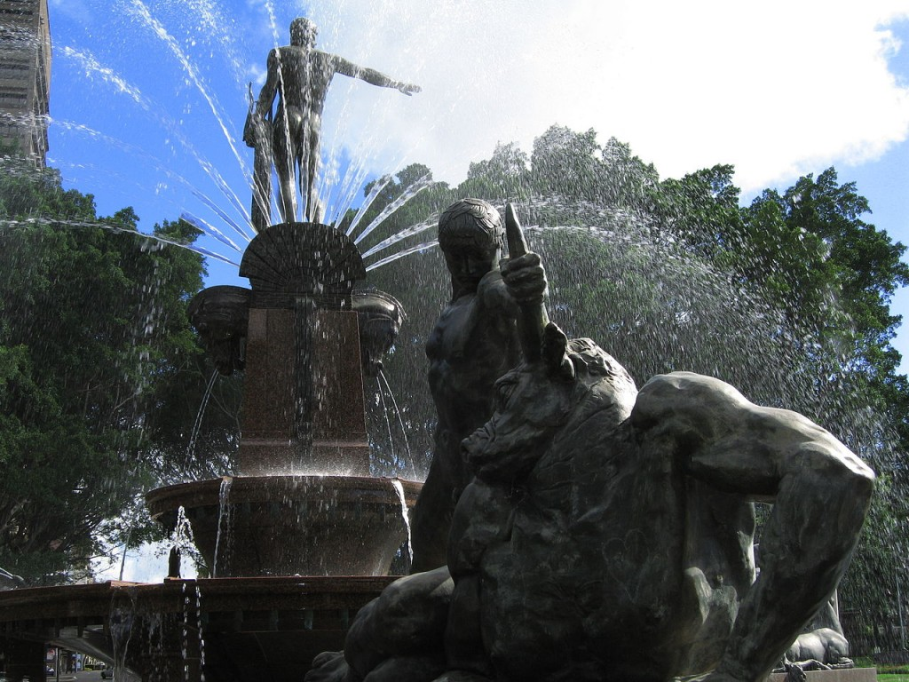 Most Famous Fountains: Archibald Fountain, Sydney