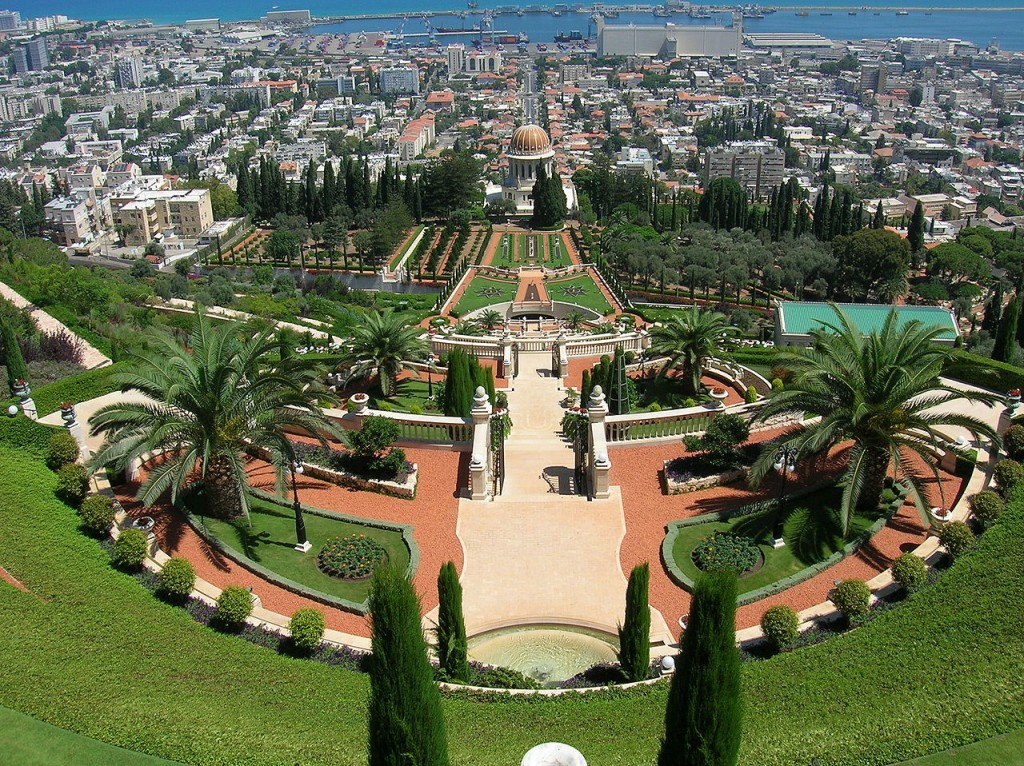 Best Attractions In Israel: The Bahai Gardens, Haifa