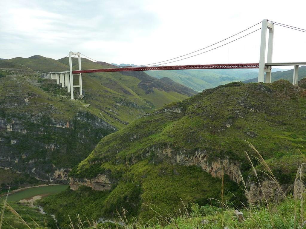 Beipanjiang River 2009 Bridge, China (source: wiki)