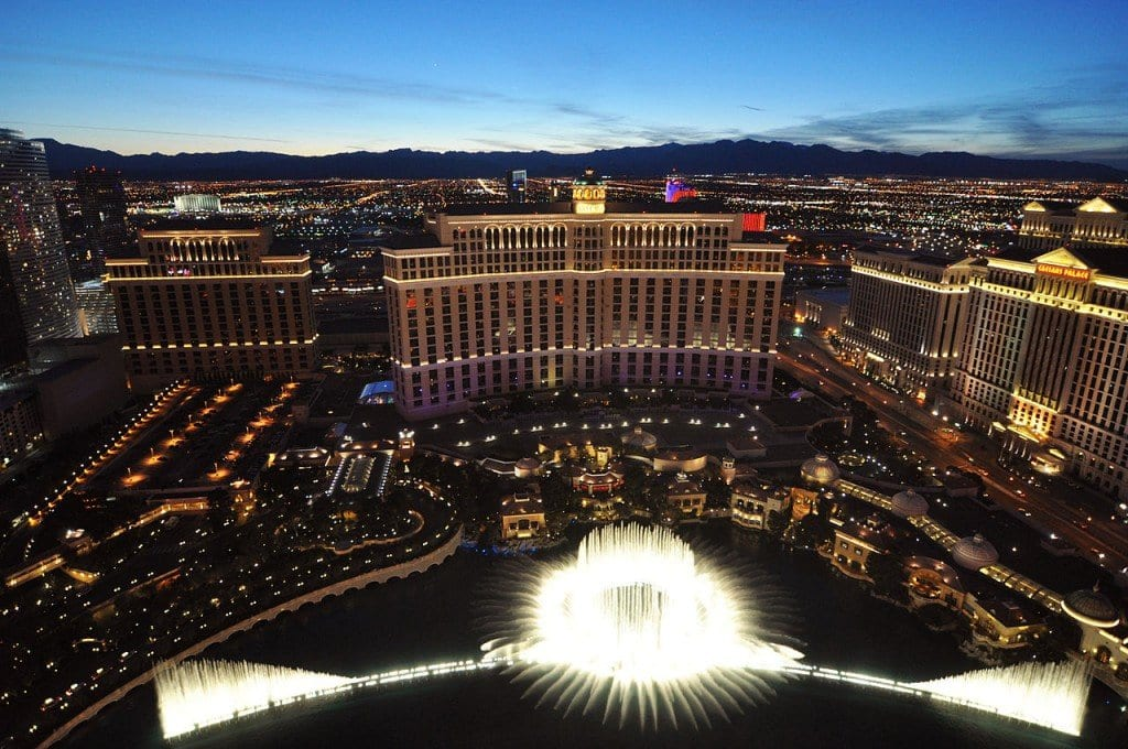 Most Famous Fountains: Bellagio Fountains, Las Vegas