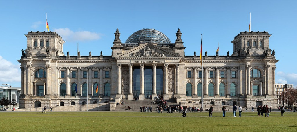Most Famous Domes: Reichstag, Berlin (source: wiki)