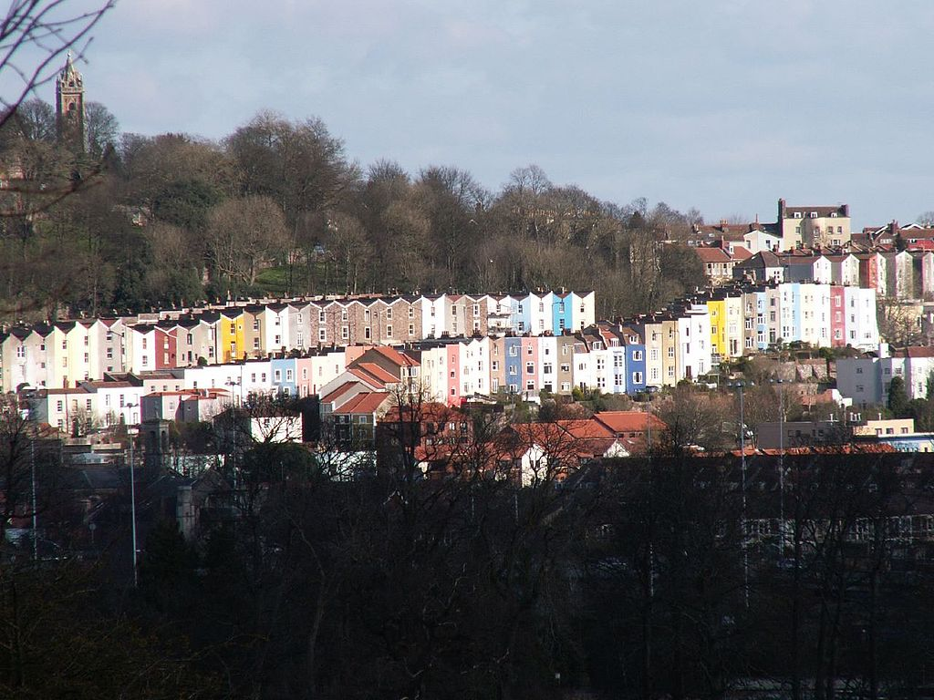 Most Colorful Places: Bristol, England (source: wiki)