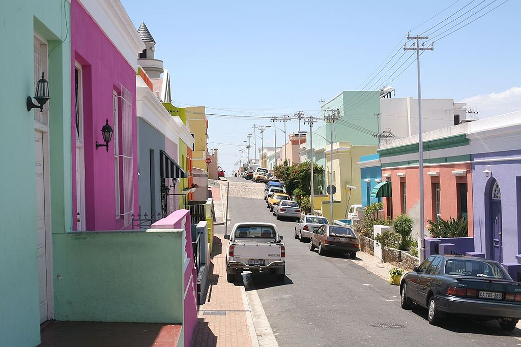 Most Colorful Places: Bo-Kaap, Cape Town, South Africa