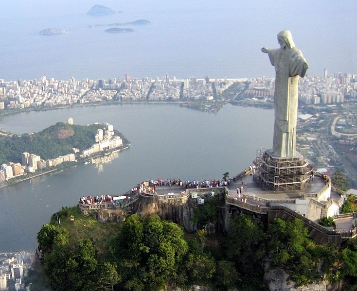 Most famous statues: Christ the Redeemer on Corcovado mountain