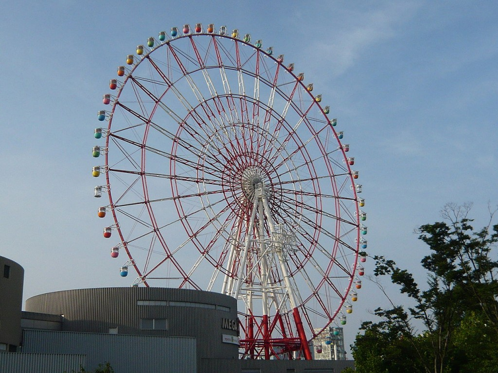 Most Awesome Ferris wheels: Daikanransha, Japan