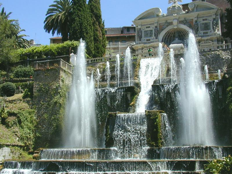 Most Famous Fountains: Fontana di Tivoli, Tivoli