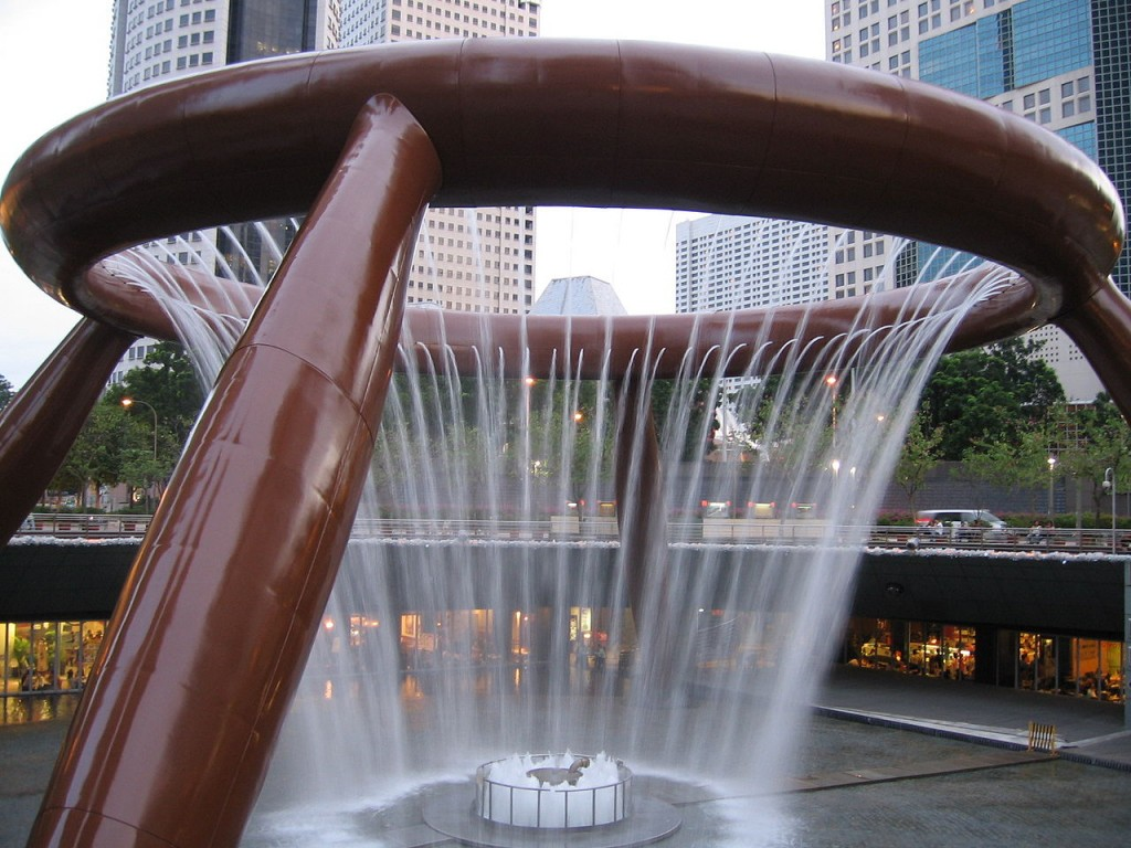 Most Famous Fountains: Fountain of Wealth, Singapore