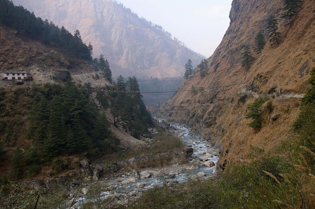 Kali Gandaki Gorge, Nepal (source: wiki)
