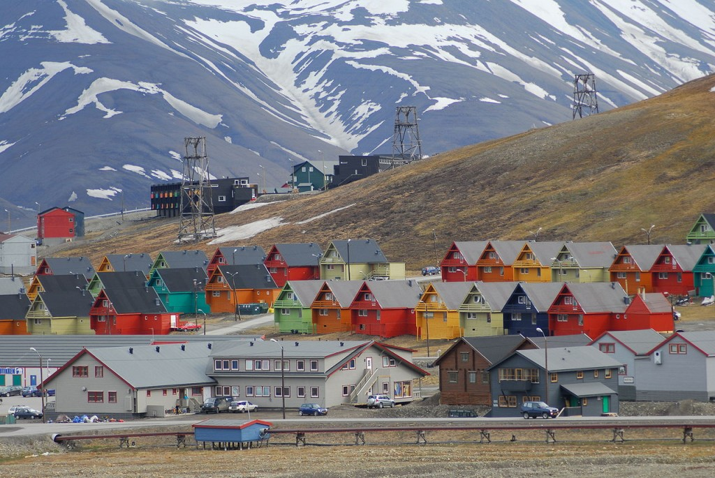 Most Colorful Places Longyearbyen, Svalbard, Norway