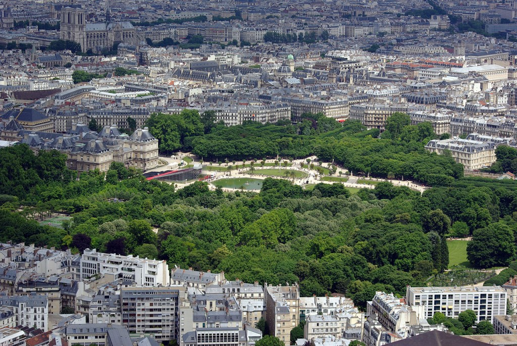 Best Attractions In Paris: Luxembourg gardens
