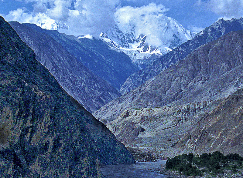 Indus Gorge with the Nanga Parbat mountains, Pakista (source: wiki)