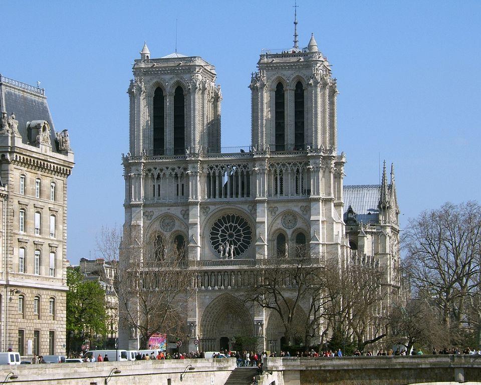 A maioria das igrejas famosas do mundo: Notre Dame de Paris