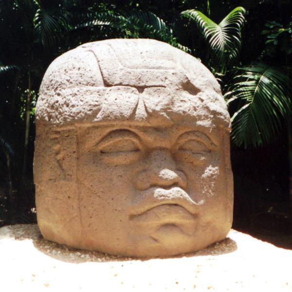 Olmec colossal heads, Mexico