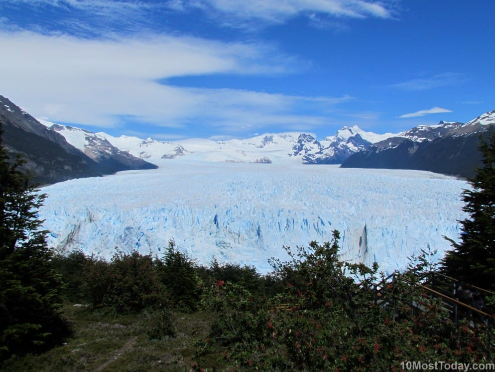 Most Famous Natural Landmarks In South America: Perito Moreno Glacier