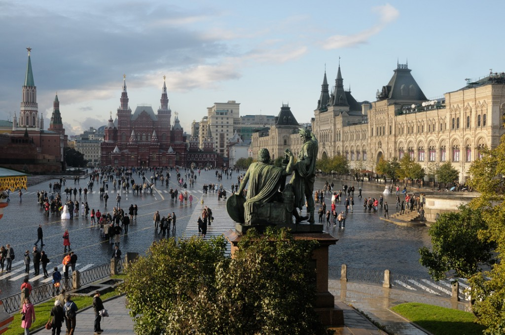 Most Famous City Squares: Red Square, Moscow