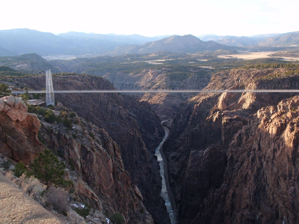Royal Gorge Bridge, Colorado, United States (source: wiki)
