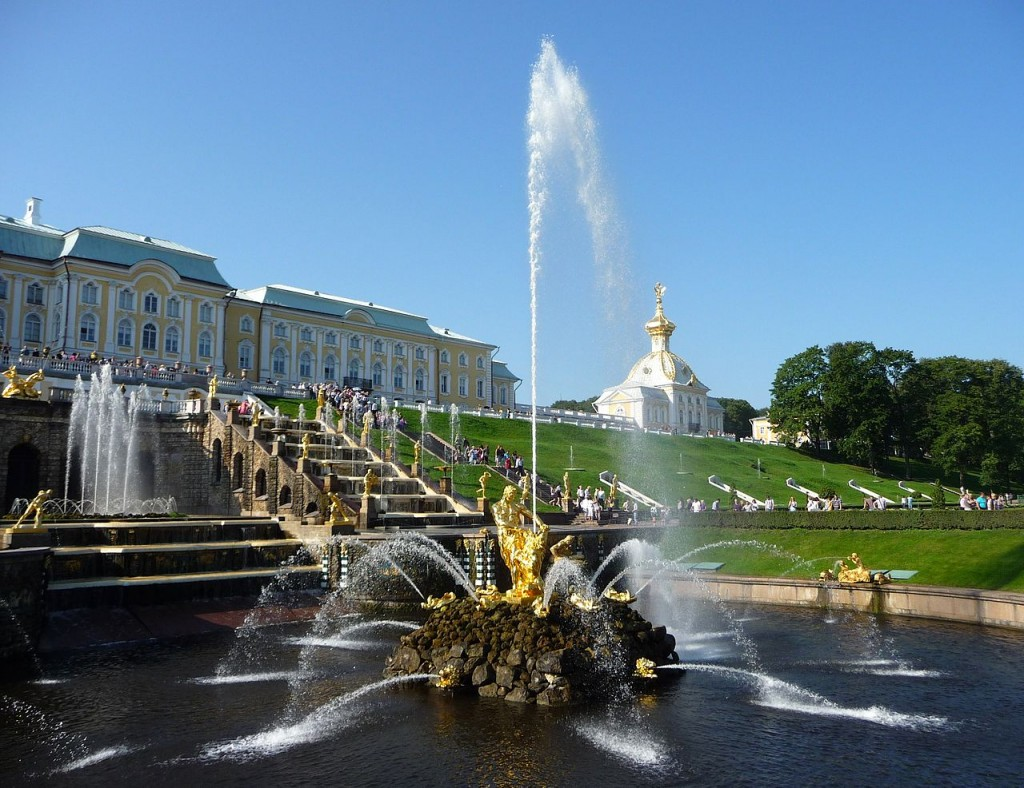 Most Famous Fountains: Samson Fountain at Peterhof Palace, Saint Petersburg