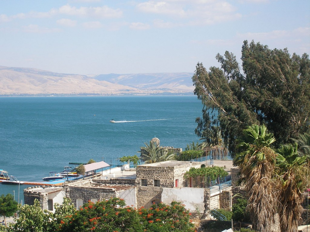 Best Attractions In Israel: The Sea of Galilee