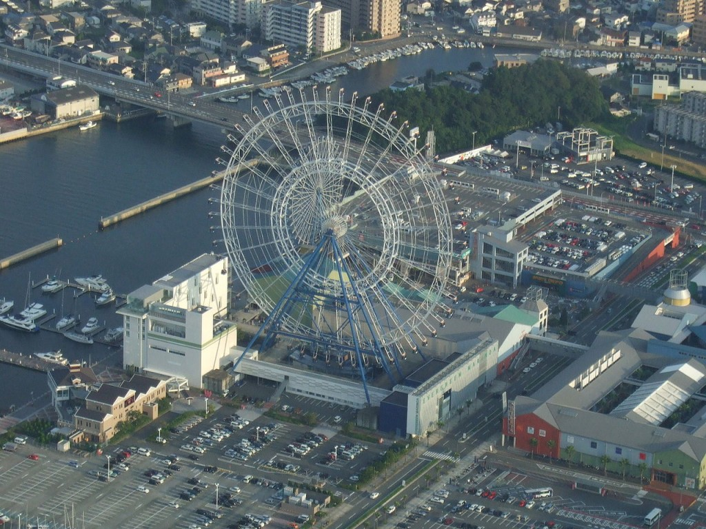 Most Awesome Ferris wheels: Sky Dream Fukuoka, Japan
