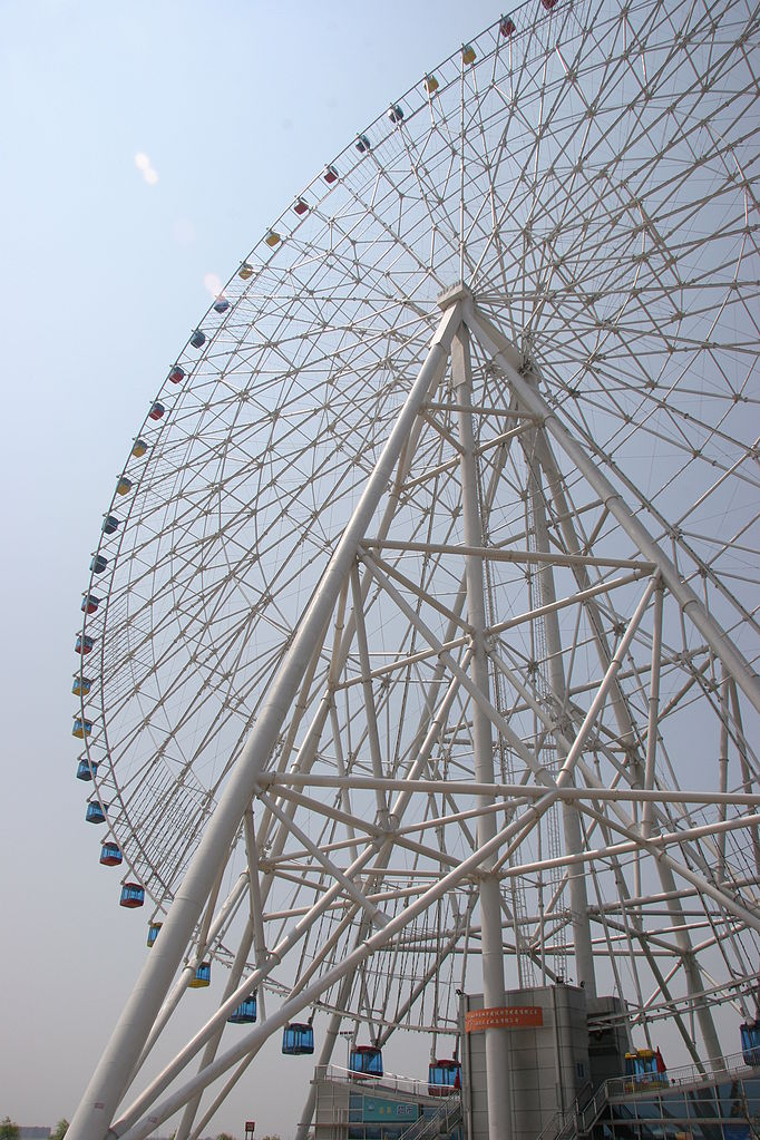 Most Awesome Ferris wheels: Star of Nanchang, China