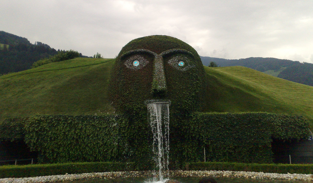 Most Famous Fountains: Swarovski Fountain, Innsbruck
