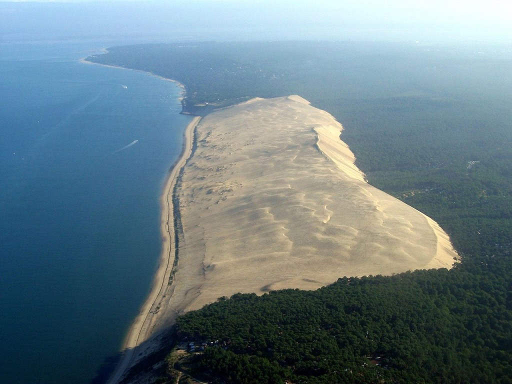 The Great Dune of Pyla, France (source: wiki)