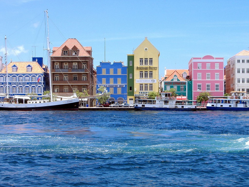 Most Colorful Places Willemstad, Curacao, Caribbean