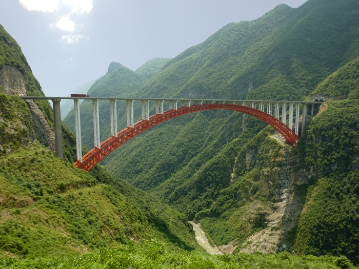 Zhijinghe River Bridge, China (source: wiki)