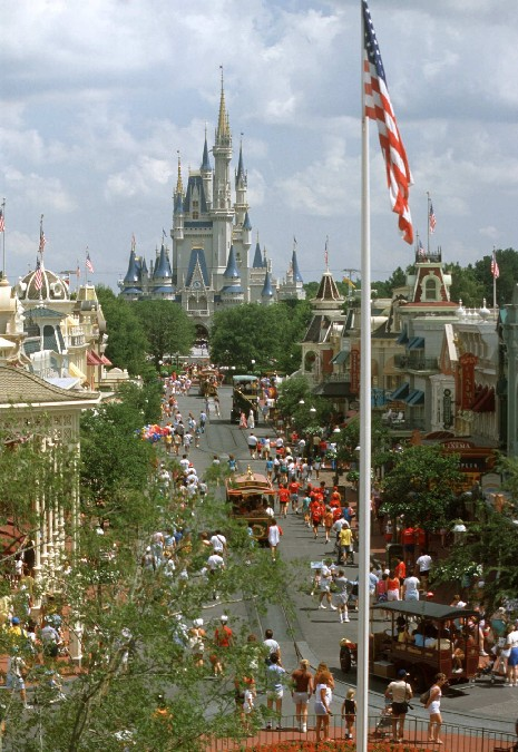 Disney World's Magic Kingdom, Florida
