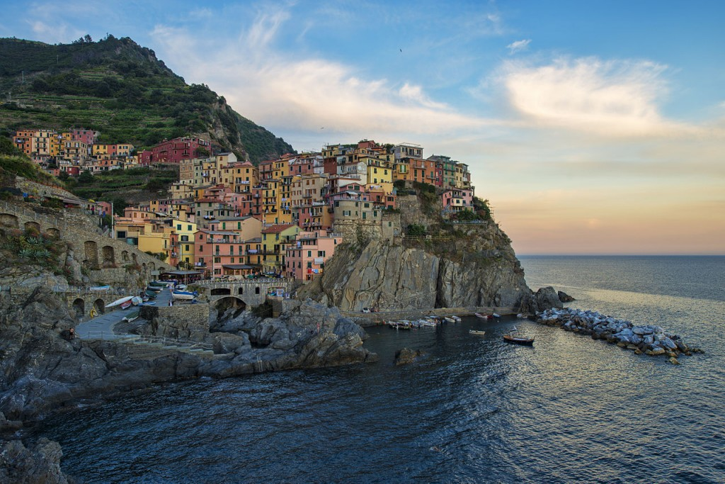 Most Colorful Places, Manarola, Cinque-Terre, Italy