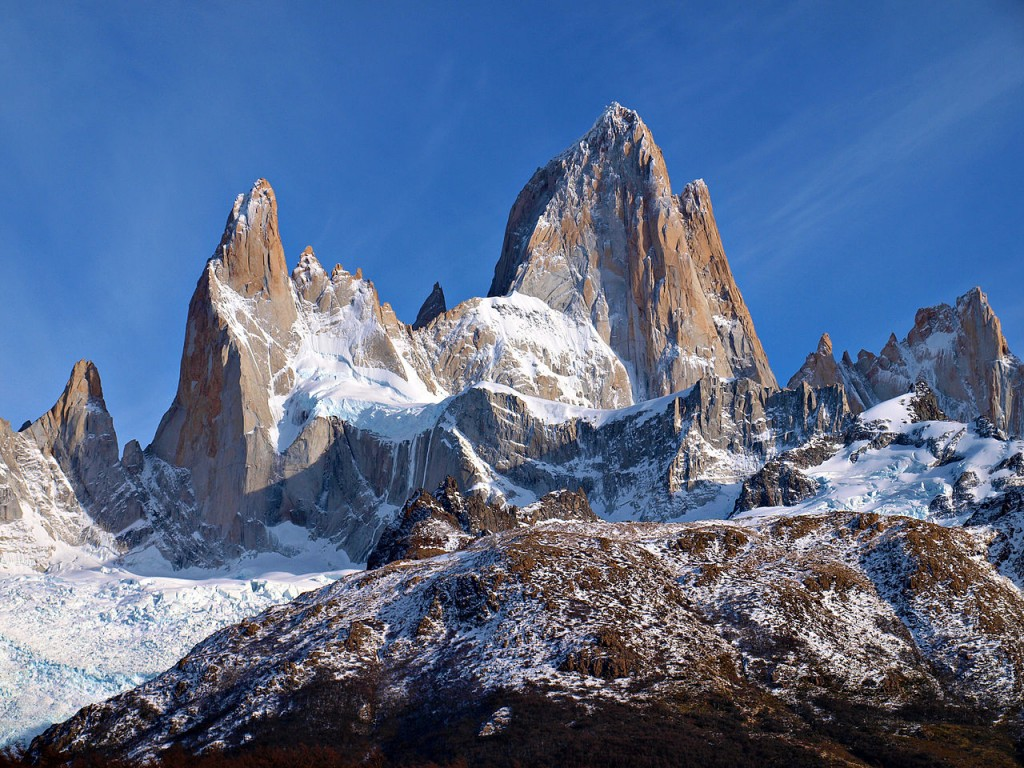 Most Famous Natural Landmarks In South America: Mount Fitz Roy