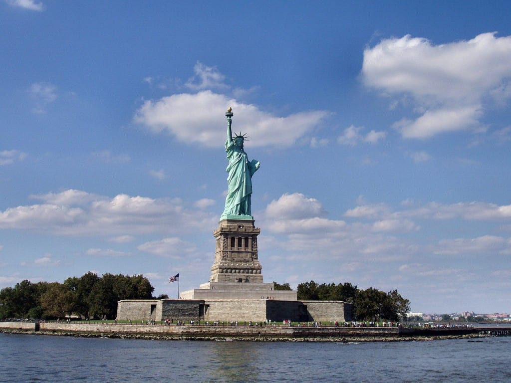 Most famous statues: Statue Of Liberty