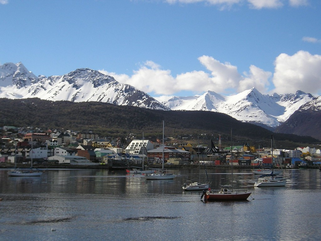 Awesome Geographical Extreme Points: Ushuaia