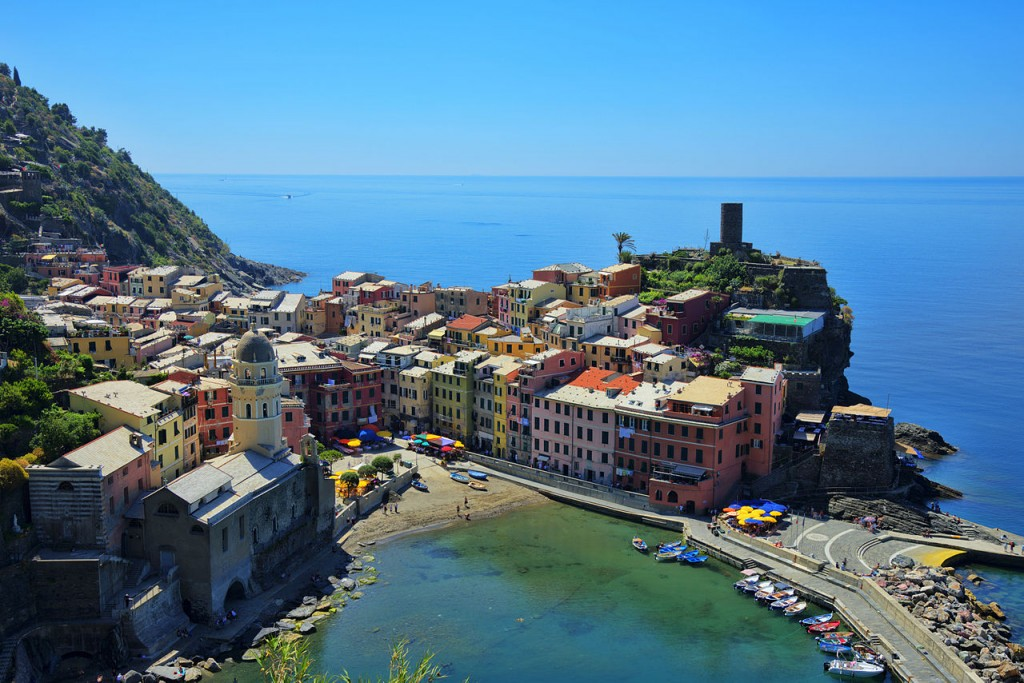 Most Colorful Places, Vernazza, Cinque-Terre, Italy