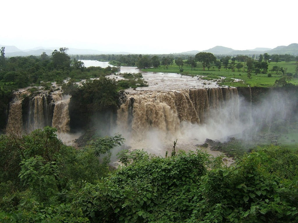 The Blue Nile Falls, Ethiopia