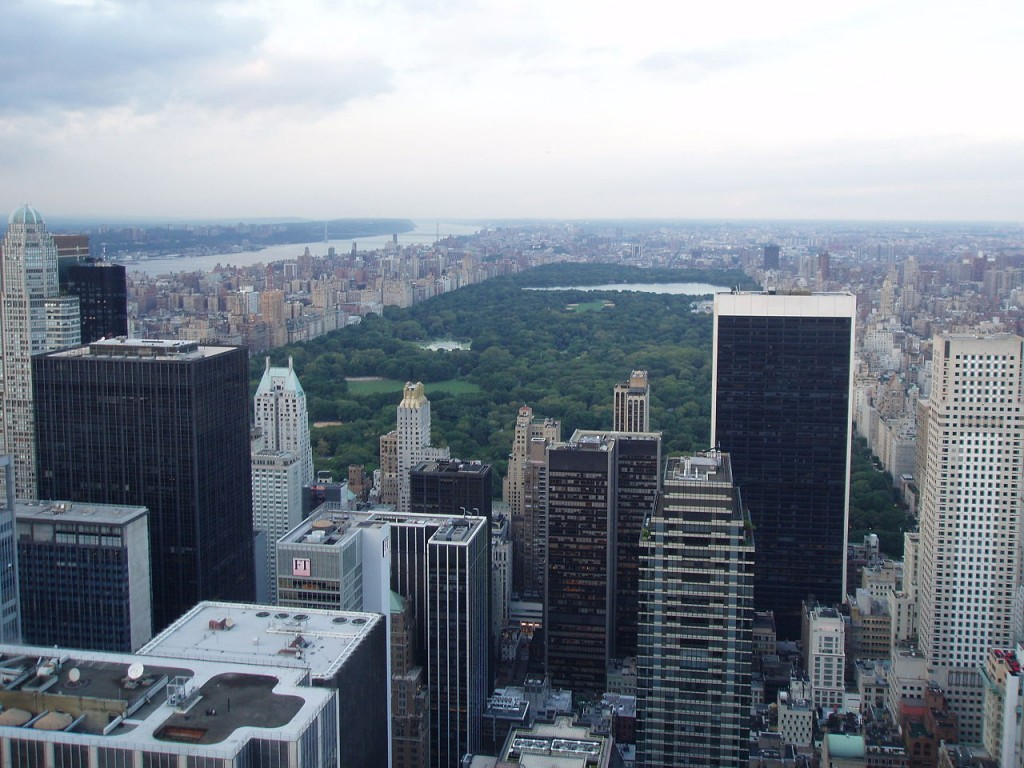 Most Famous Urban Parks: Central Park, New York