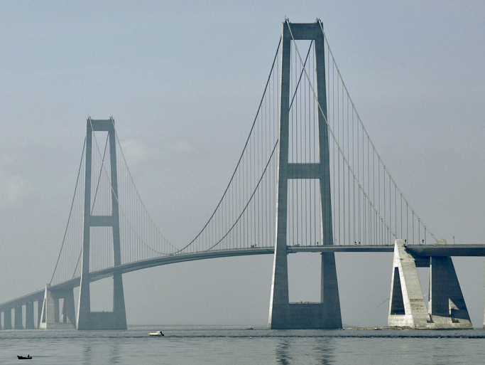 Tallest Bridges In The World: Great Belt East Bridge, Denmark