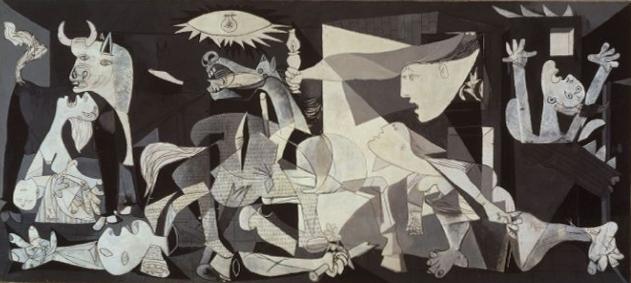 En Ünlü Resim Sergisi: Guernica, Pablo Picasso'nun